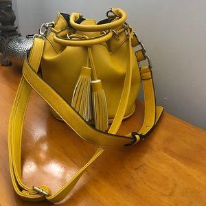 Marigold Yellow Bucket Bag By JustFab!